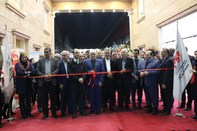 مراسم افتتاح کارخانه ماشین سازی پی یو صنعت نظری